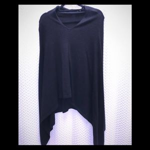 Sweaters - 100% Cashmere Elegant Poncho